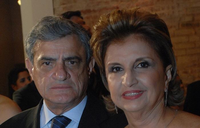 Guilherme Patury e Fátima Patury em evento em 2011. Foto: Nando Chiappetta / Arquivo DP