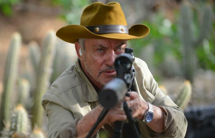 O alemão Udo Kier interpreta um dos vilões da trama. Foto: Vitrine Filmes/Divulgação