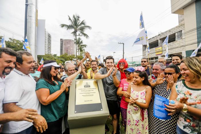 Com 2,8 km de extensão, o equipamento tem início na Rua dos Palmares, em frente ao hospital Procape, e segue pela Avenida Mário Melo até a Rua do Aurora. Foto: Andrea Rego Barros / PCR
