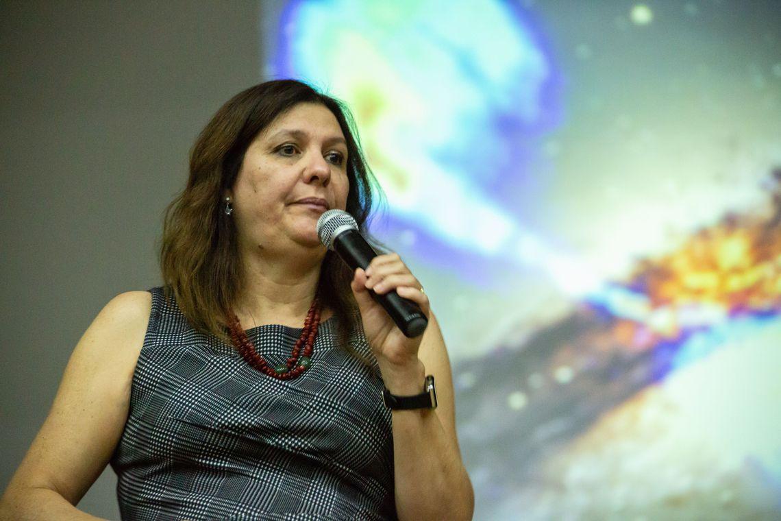 Duilia de Mello. Foto: Ascom UnB/Divulgação