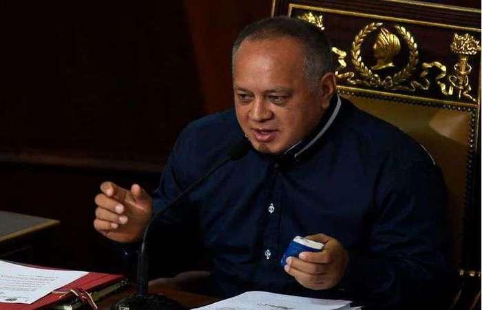 """Diosdado Cabello, o """"número dois do chavismo"""". Foto: Federico Parra/AFP"""