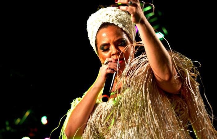 O evento é capitaneado pela sambista pernambucana Karynna Spinelli. Foto: Karynna Spinelli/Divulgação