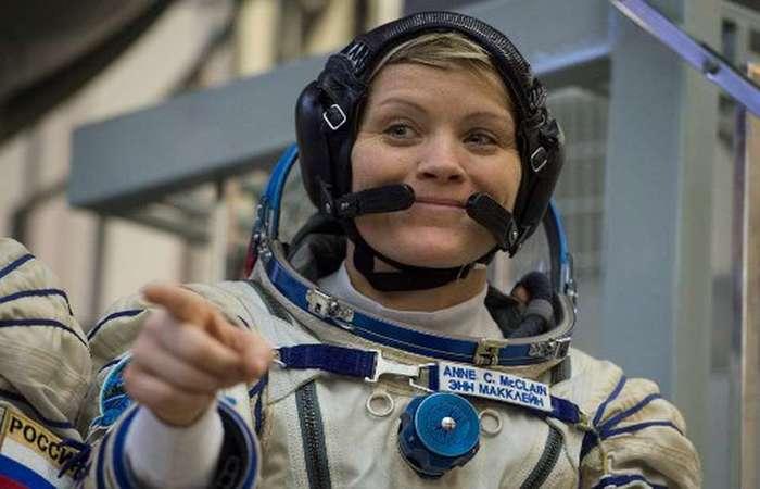 Astronauta da NASA Anne McClain. Foto: STR/AFP