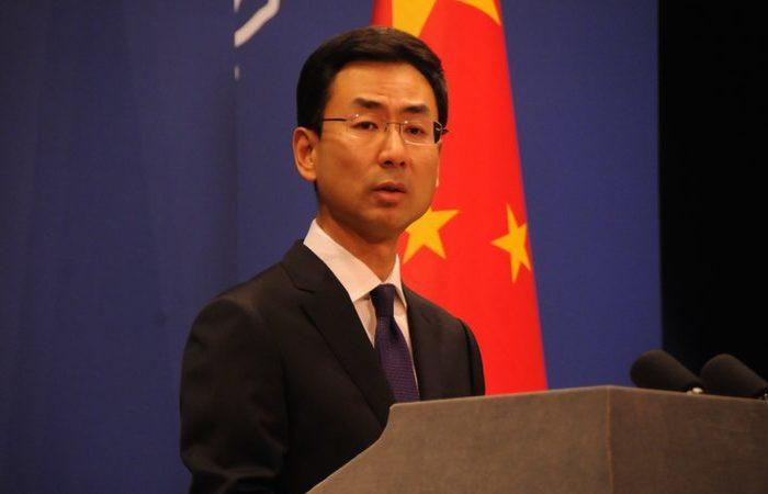 Geng Shuang, porta-voz do ministério chinês de Relações Exteriores. Foto: Arquivo/AFP
