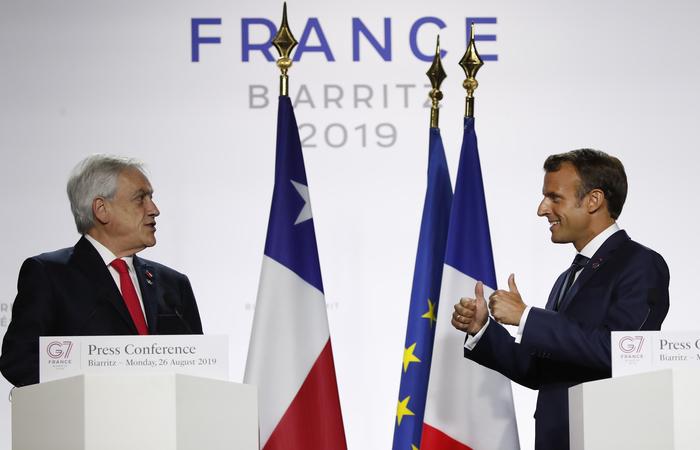 Foto: Francois Mori / POOL / AFP (Foto: Francois Mori / POOL / AFP)