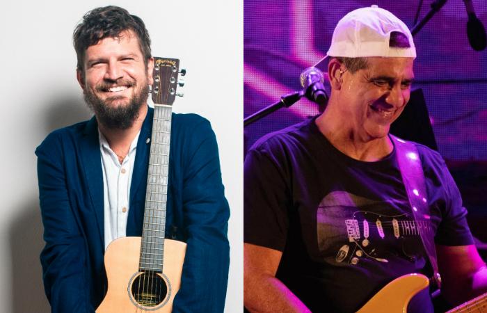 Saulo e Durval Lelys. Foto: Lucas Seixas e Durval Lelys/Divulgação