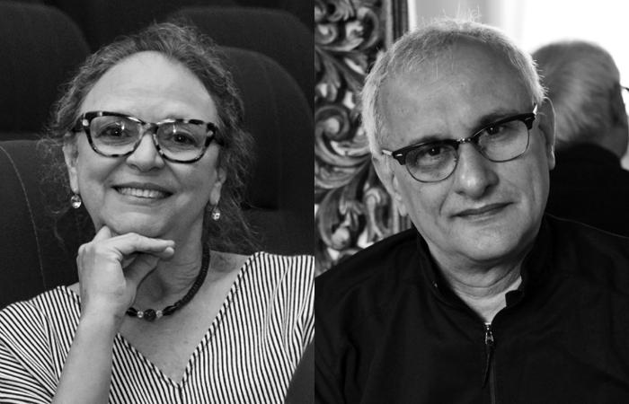 Ana Farache e Paulo Cunha, autores. Foto: Cepe/Divulgação