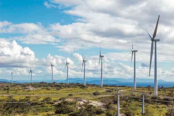 Os recursos serão destinados à implantação de parques eólicos localizados na Serra do Mel (RN). Foto: Abeeólica/Divulgação