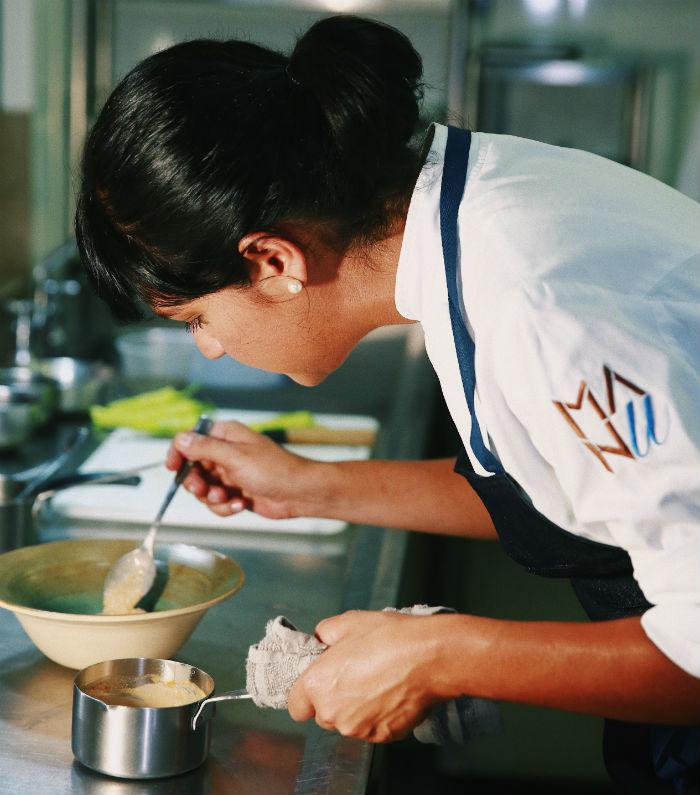 Chef curitibana trabalha com conceito da sustentabilidade. Foto: Henrique Schmei