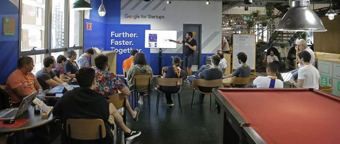 Programação contará com dois encontros presenciais na sede do Google for Startups. Foto: Google/Divulgação