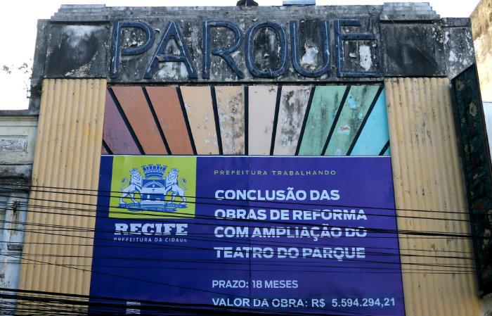 A reforma começou em 2010. Foto: Gabriel Melo / Esp. DP- LOCAL
