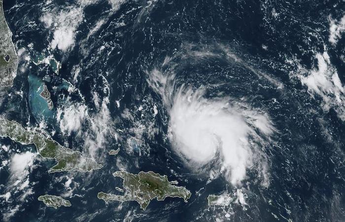Foto: AFP PHOTO/NOAA/RAMMB/HANDOUT  (Foto: AFP PHOTO/NOAA/RAMMB/HANDOUT )