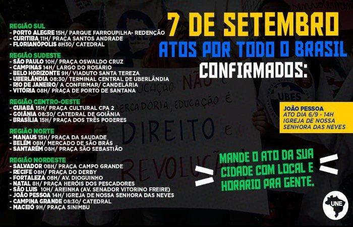 Foto: Divulgação / UNE