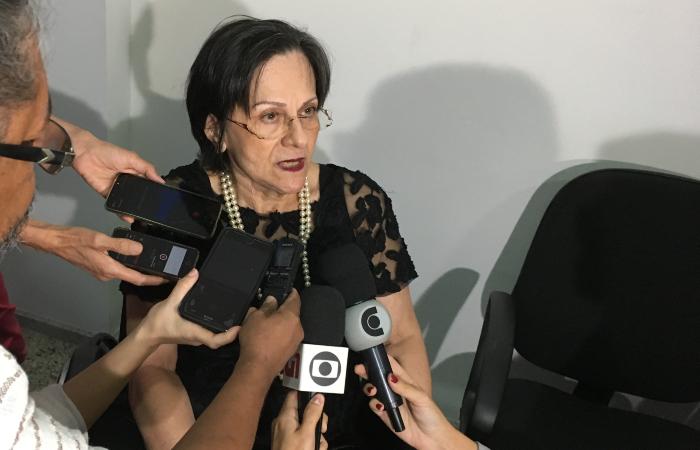 """""""O entendimento sobre violência contra a mulher fui obrigada a aprender por ter sido vítima"""", conta Maria da Penha - Diogo Cavalcante/DP"""