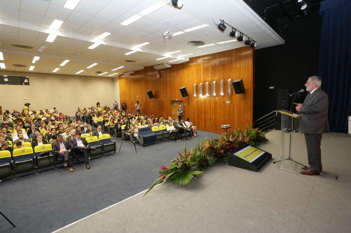 Evento aconteceu no auditório do Banco do Brasil, Bairro do Recife. Foto: Anderson Freitas/Maker Mídia