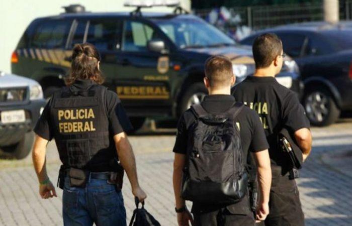 A Polícia Federal prendeu os acusados estrangeiros no mês passado. Foto: Divulgação   (Foto: Divulgação )
