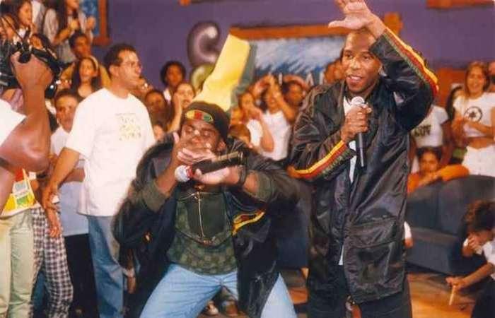 Claudinho e Buchecha se destacaram no fim da década de 1990. Foto: Wanderlei Pozzembom/CB/D.A Press