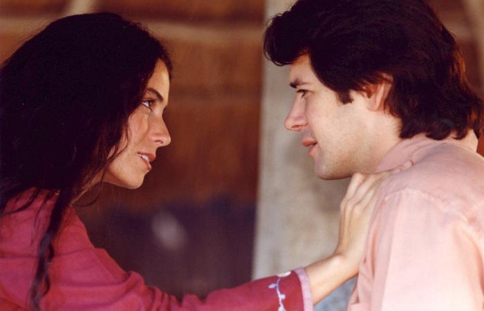 Jade (Giovanna Antonelli) e Lucas (Murilo Benício): amor que resiste a tudo - Divulgação/Globo
