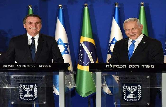 """""""Meu amigo Jair Bolsonaro, estou feliz que sua cirurgia tenha sido bem sucedida"""", afirmou o primeiro-ministro. Foto: Debbie Hill/AFP"""