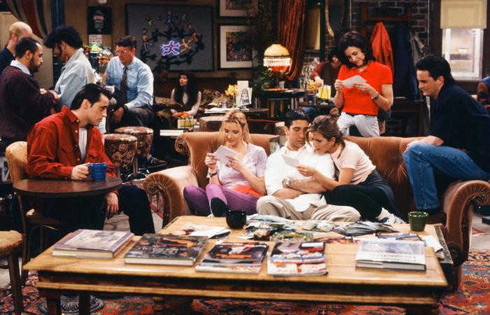 """Seriado """"Friends"""", produção de grande sucesso nos 90 - Créditos: (Reprodução/Warner)"""