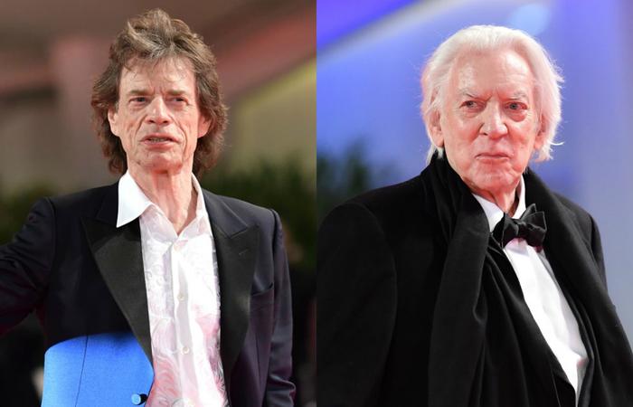 Mick Jagger e Donald Sutherland criticam Bolsonaro e Trump - Créditios: AFP.