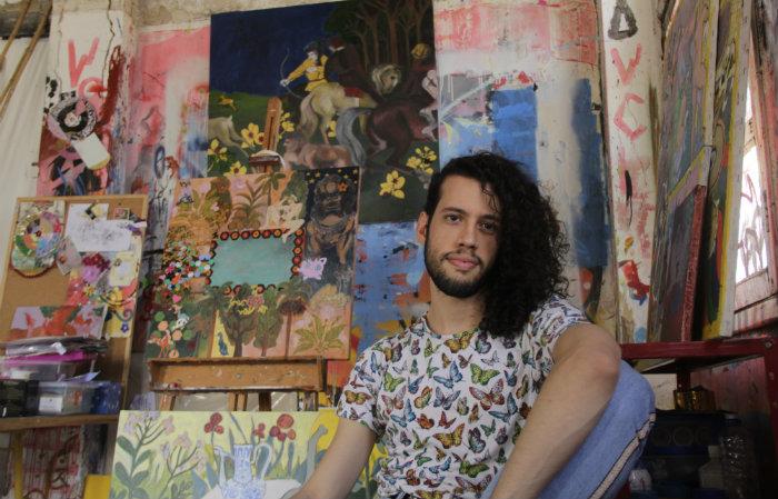 A exposição Escola de artes aplicadas, por Heitor Dutra será aberta ao público nesta terça-feira (10). Foto: Aline Muniz/Divulgação.