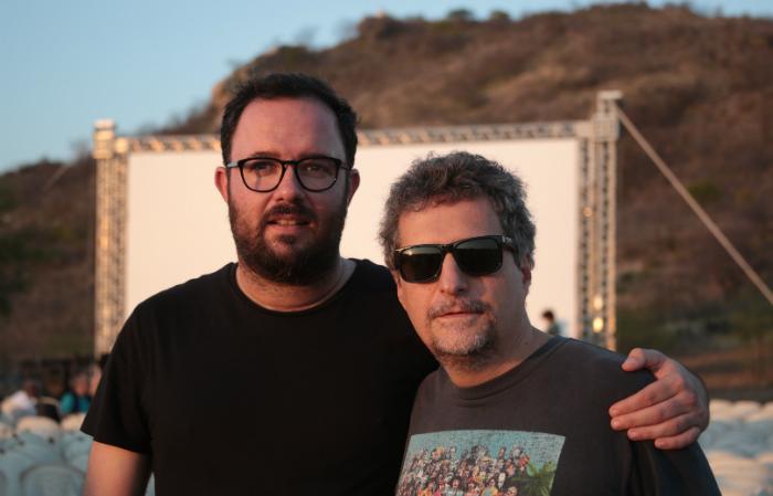 Juliano e Kleber em sessão especial em Barra, na Paraíba. Foto: Victor Alencar/Divulgação