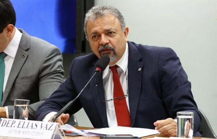 O deputado Elias Vaz (PSB-GO) apresentou um mandado de segurança à Corte. Foto: Vinicius Loures/Câmara dos Deputados  (Foto: Vinicius Loures/Câmara dos Deputados )