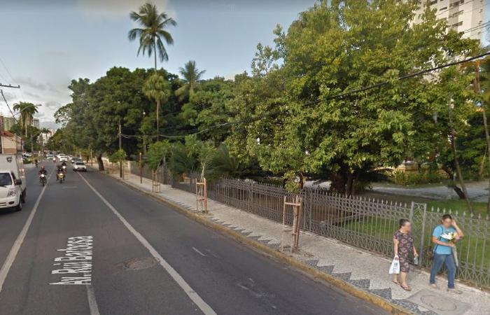 Trecho ficará interditado até às 8h desta quarta-feira (8) - Reprodução/Google Street View