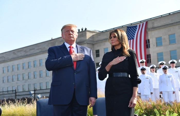 Também foram pronunciadas durante uma cerimônia em que os parentes das quase 3.000 vítimas dos ataques em Nova York, Washington e Pensilvânia recordaram seus entes queridos - Créditos: AFP.