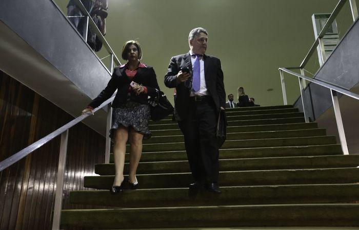 No último dia 3, Rosinha e seu marido, o ex-governador fluminense Anthony Garotinho, foram presos pela Polícia Federal na Operação Secretum Domus. Foto: Fabio Rodrigues Pozzebom/Agência Brasil  (Foto: Fabio Rodrigues Pozzebom/Agência Brasil )