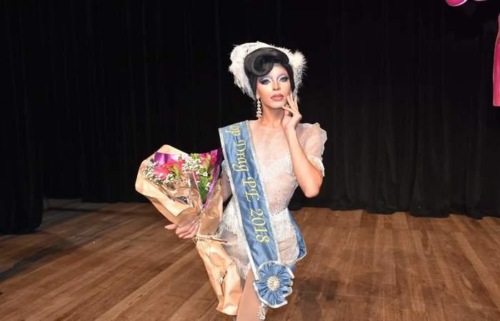 Ruby Nox, vencedora do Top Drag Pernambuco de 2018. Foto: Divulgação