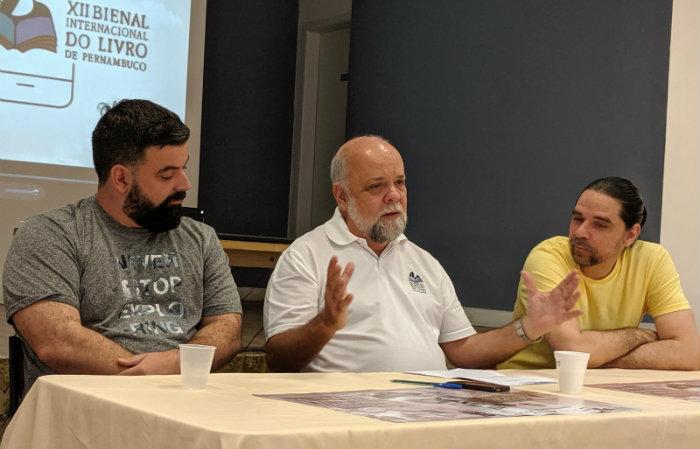 A coletiva foi realizada nesta quinta-feira (12). Foto: Lula Portela/Divulgação