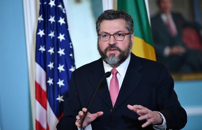 Ernesto Araújo, Ministro da Relações Exteriores - Créditos: AFP.