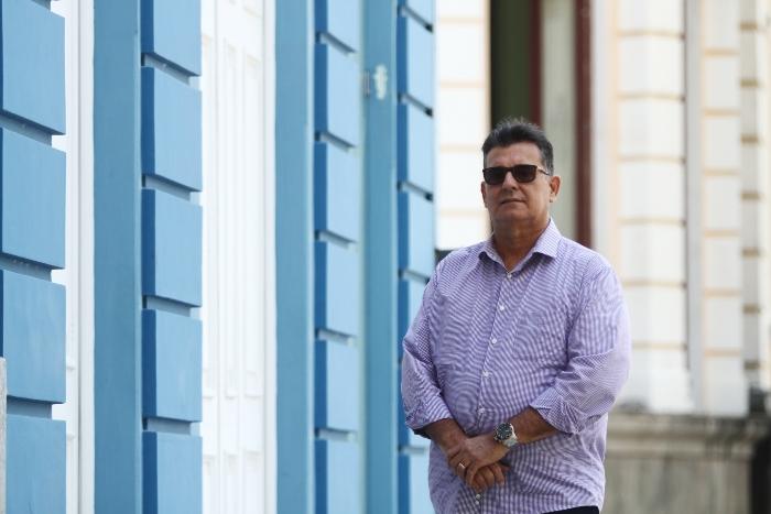 O coronel da reserva da Polícia Militar Luiz Meira é o porta-voz do grupo que se opõe à lista tríplice. Foto: Peu Ricardo/DP