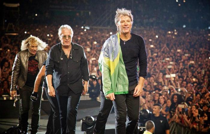 Bon Jovi, chega ao Brasil para apresentar a sua turnê This House Is Not For Sale. Foto: Divulgação