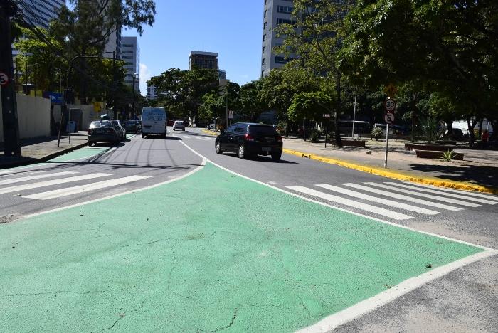 Bairro sofrerá intervenção para privilegiar pedestres. Foto: Inaldo Lins/PCR