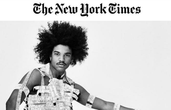 Samuel d'Saboia fotografado por Philippe Vogelenzang. Foto: The New York Times/Reprodução