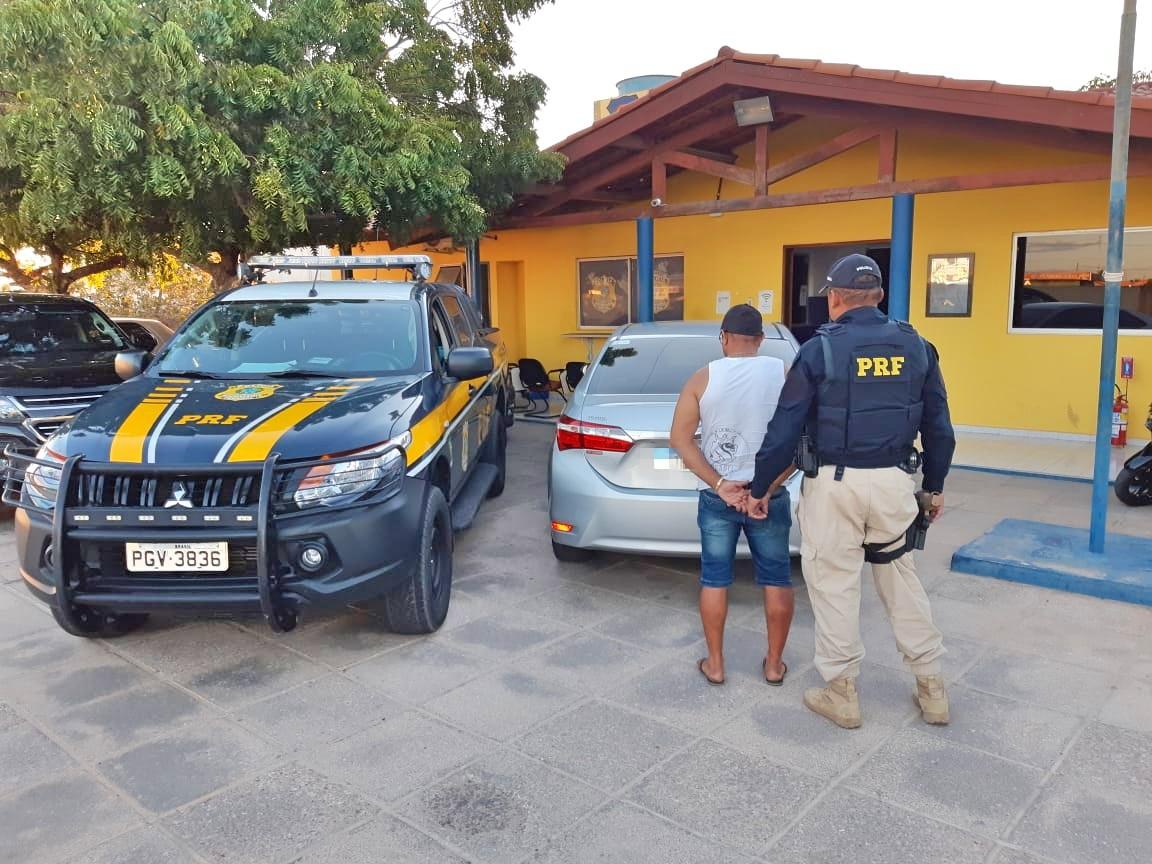 Veículo era procurado desde 2017. Foto: PRF/DIVULGAÇÃO