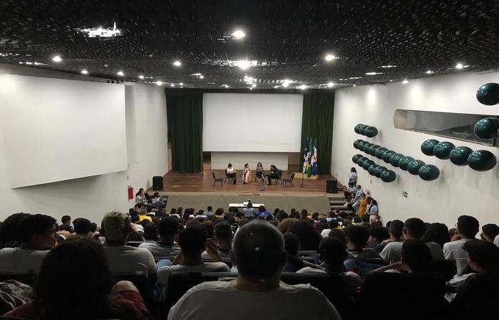 O evento lotou o auditório Ribeira, no Centro de Convenções e teve a participação de mais de 150 pessoas. Foto: Julliana Brito/Esp. DP