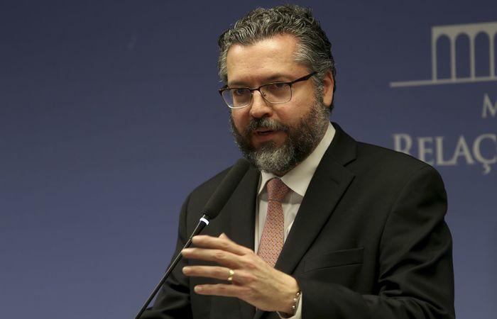 O chanceler brasileiro, Ernesto Araújo. Foto: Wilson Dias/Agência Brasil (Foto: Wilson Dias/Agência Brasil)