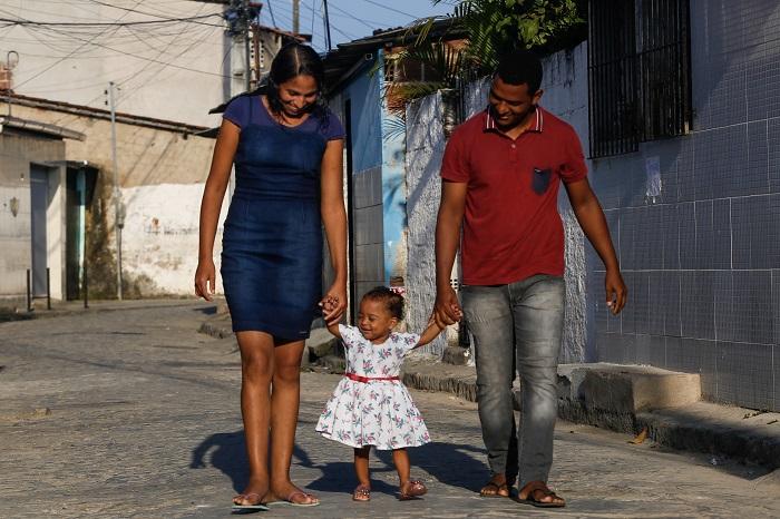 Donata Fonseca pensava que não poderia engravidar antes de ter Sara Cecília. Foto: Leandro de Santana/Esp.Dp Foto