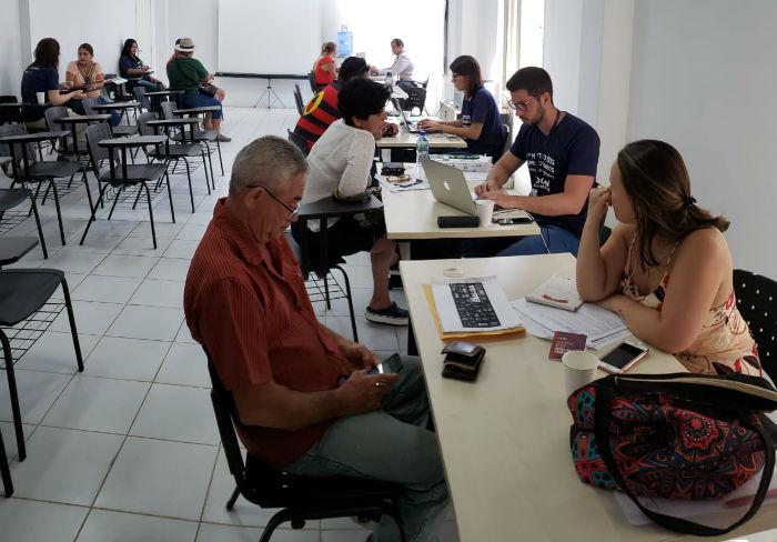 A ação começou na última terça (24) e segue até o dia 26, no auditório do Posto de Saúde da Família (PSF), localizado na BR-363. Foto: Divulgação.