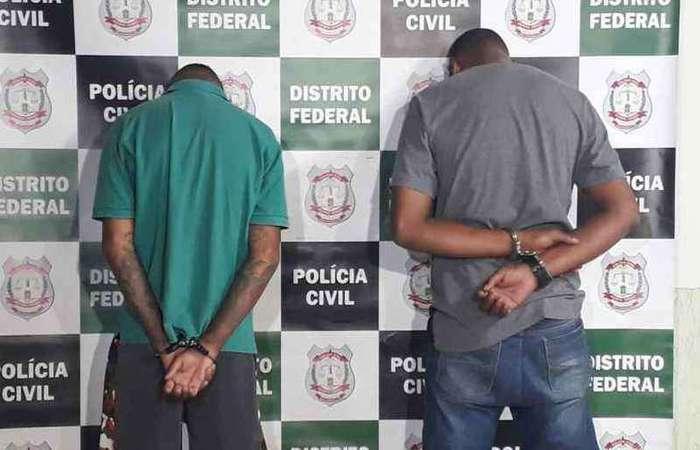Alessandro de Anchieta Silva e Antônio Willyan Almeida Santos - Foto: Ed Alves/CB/D.A Press.