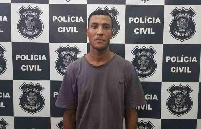 Daniel da Cruz foi preso no Novo Gama, segundo informou o delegado Danillo Martins, de Goiás - Foto: Divulgação/Polícia Civil de Goiás.