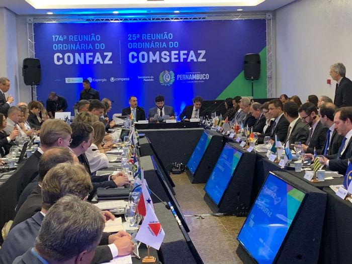 Comsefaz faz reunião durante todo o dia de hoje. Amanhã, o encontro é do Confaz (Conselho Nacional dos Secretários de Fazenda). Foto: Divulgação.