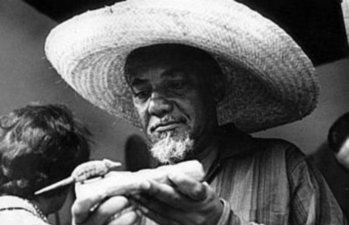 Filho do sapateiro Manuel Abílio Trindade, o artista teve uma formação autodidata, se tornando um visionário, expoente das artes e cultura afro-brasileira. Foto: Arquivo