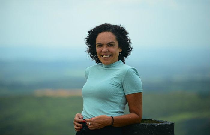 A idealizadora do projeto, Lydia Costa. Foto: Teresa Maia/Divulgação