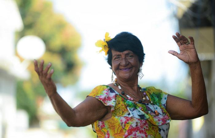 A mestra cirandeira Maria Cristina Andrade. Foto: Teresa Maia/Divulgação