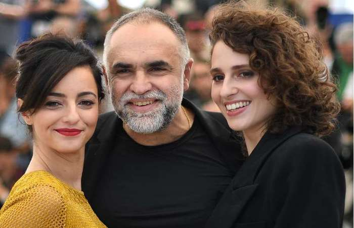 Elenco do filme 'A vida invisível' em Cannes. Foto: AFP / LOIC VENANCE
